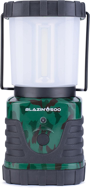 Die hellste LED-Camping & Hurricane Laterne–batteriebetrieben–500Lumen–6Tag Run Time, grün, BB-500-Camo