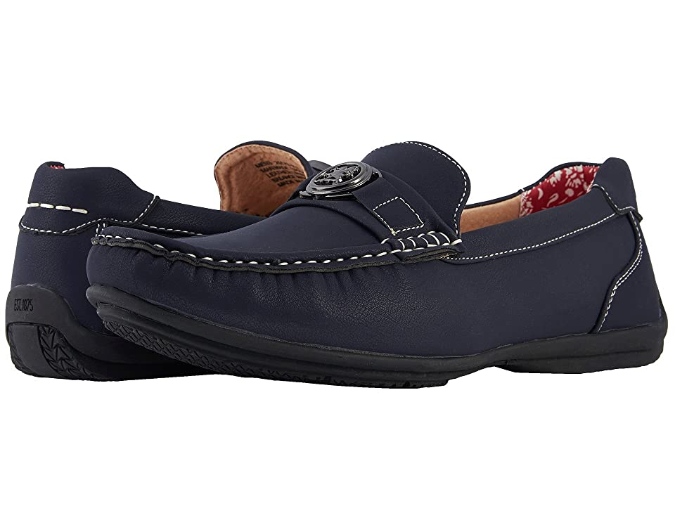 Stacy Adams Cyrus Slip On Casual Loafer (Navy) Men