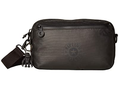 Kipling New Classics Halima Convertible Waistpack (Raw Black) Handbags
