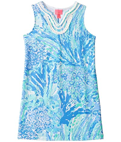 Lilly Pulitzer Kids Mini Harper Shift (Toddler/Little Kids/Big Kids) (Blue Haven Hey Hey Soleil) Girl