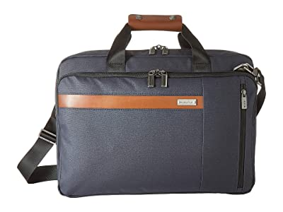 Briggs & Riley Kinzie Street Convertible Brief (Navy) Briefcase Bags