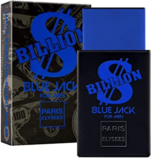 BILLION DOLLAR BLUE JACK Perfume para hombre Paris Elysees vaporizador 100 ml