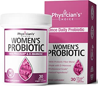 Prebiotics & Probiotics for Women – Clinically Proven ProCran – Organic..