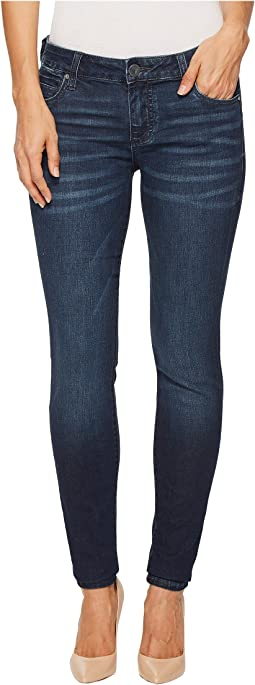 KUT from the Kloth - Mia Toothpick Skinny in Hale w/ Dark Stone Base Wash