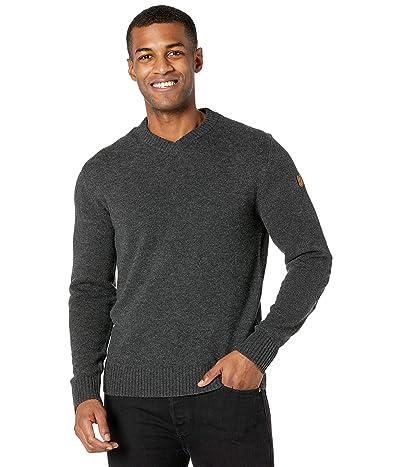 Fjallraven Ovik V-Neck Sweater (Dark Grey) Men