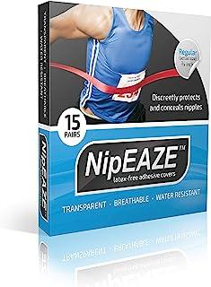 NipEaze - The Original Sports Nipple Cover - Nipple Chafing Prevention (1pack, Regular)