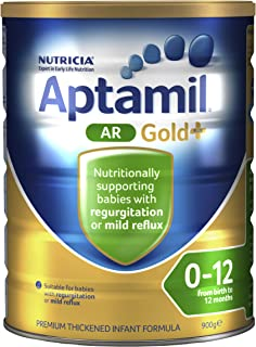 Aptamil Gold+ Infant Formula AR (from Birth to 12 Months), 900 g