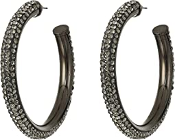 Razzle Dazzle Hoops Earrings