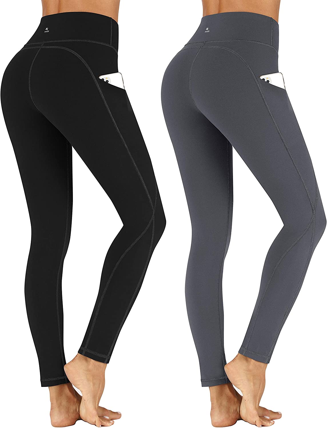Superlatite TOREEL High Waisted Leggings Pack Yoga Pants Wo with Pockets for cheap