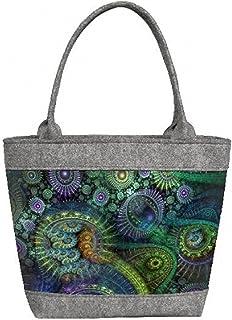 Damen Filztasche, Damentasche, Handtasche, Henkeltasche, Schultertasche, POLO Nirvana