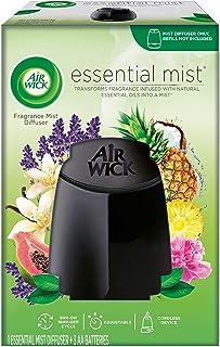 Air Wick, Essential Mist Diffuser, Essential Oils Diffuser, Freshener, Black
