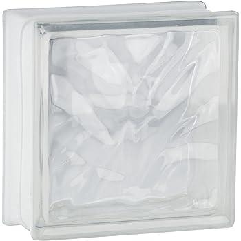 Bloques de vidrio mamparas de ducha JUEGO COMPLETO 73,5x196 cm – nube neutro brillante 24x24x8 cm – diferentes versiones disponibles: Amazon.es: Bricolaje y herramientas