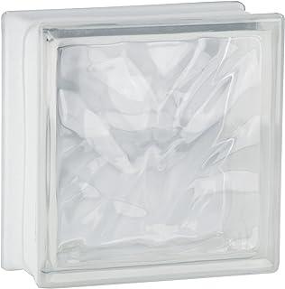 comprar comparacion 5 piezas FUCHS bloques de vidrio nube neutro 19x19x8 cm