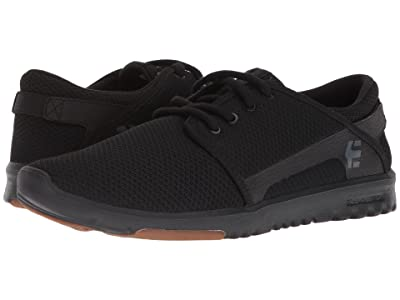etnies Scout (Black/Black/Gum) Men