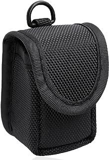 MIBEST Black Pulse Oximeter Case - Nylon O2 Saturation Monitor Case - SPO2 Pulse Oximeter Carry Case - Portable Oxygen Sen...