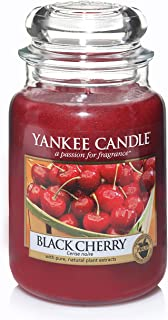 Yankee Candle Large Jar Candle, Black Cherry