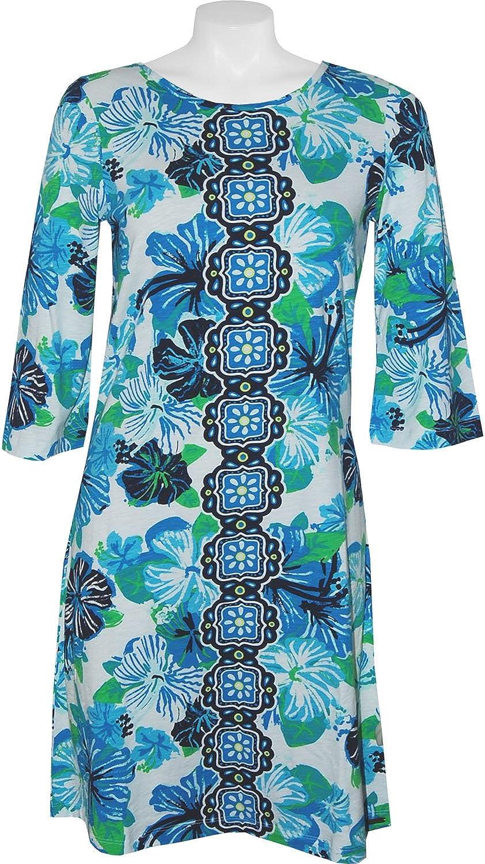 Hatley Fiona Jersey Dress  Hibiscus Kali