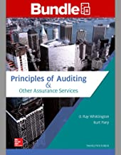 principles of auditing whittington