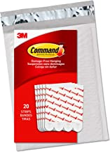 command GP023-20NA Value Pack Large Refill Strips, Large, White