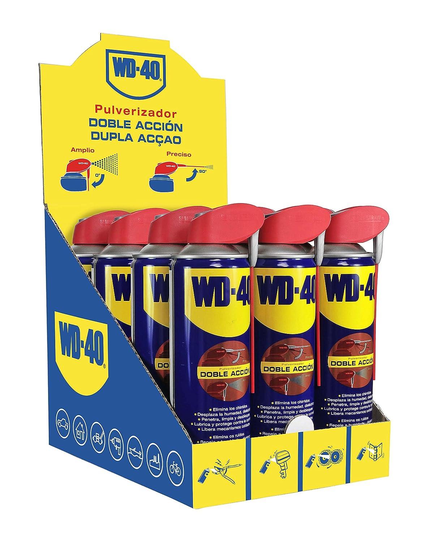 WD-40 34198 Aflojatodo, 500 ml, Juego de 12, Set