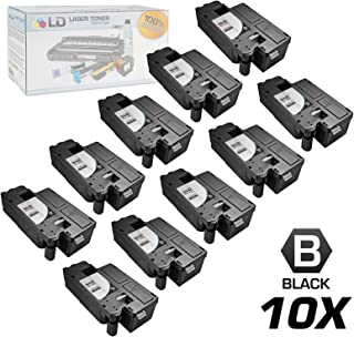 LD Compatible Toner Cartridge Replacement for Dell 332-0399 4G9HP (Black, 10-Pack)
