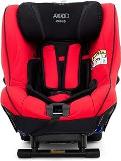 AXKID MINIKID 2 Silla de Coche Grupo 0, 1 y 2, Asiento de Automóvil para Niños de 0-25 Kg, Sillita para Coche, Silla de Coche de Bebé de 6 Meses hasta 6 Años (Rojo)