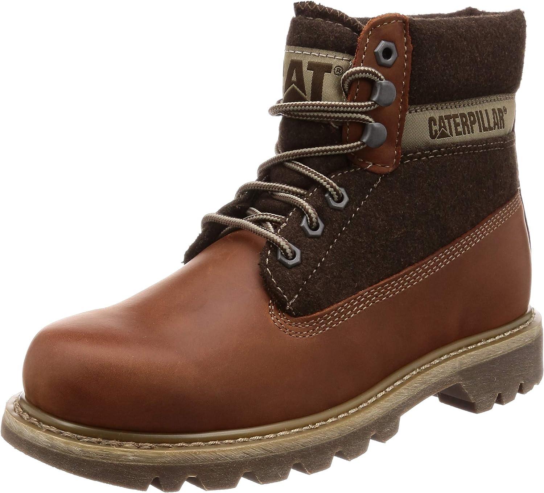 CAT Livsstil herr Färgado Wool Lace Up Boot Boot Boot  exklusiva mönster