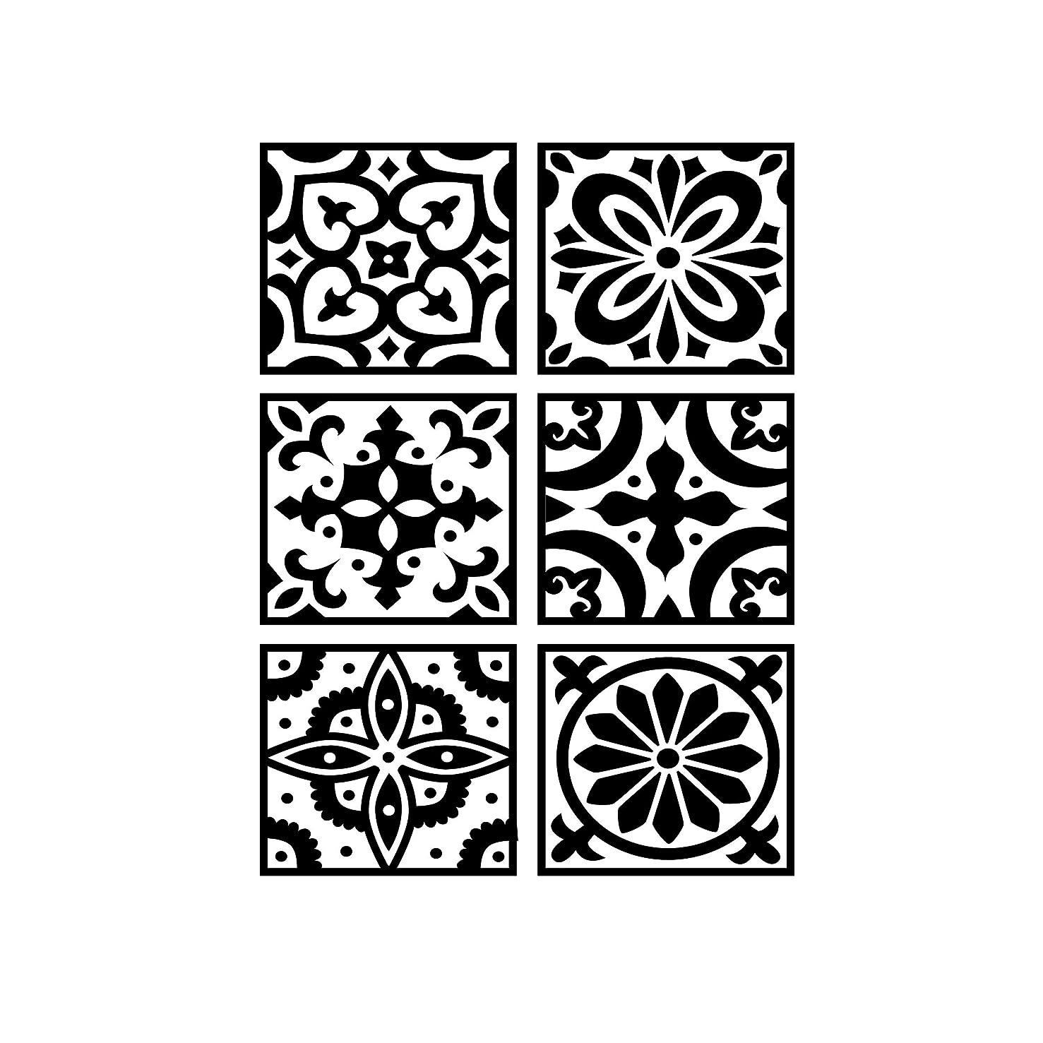 Darice 30041342 Embossing Folder: Tile Patterned