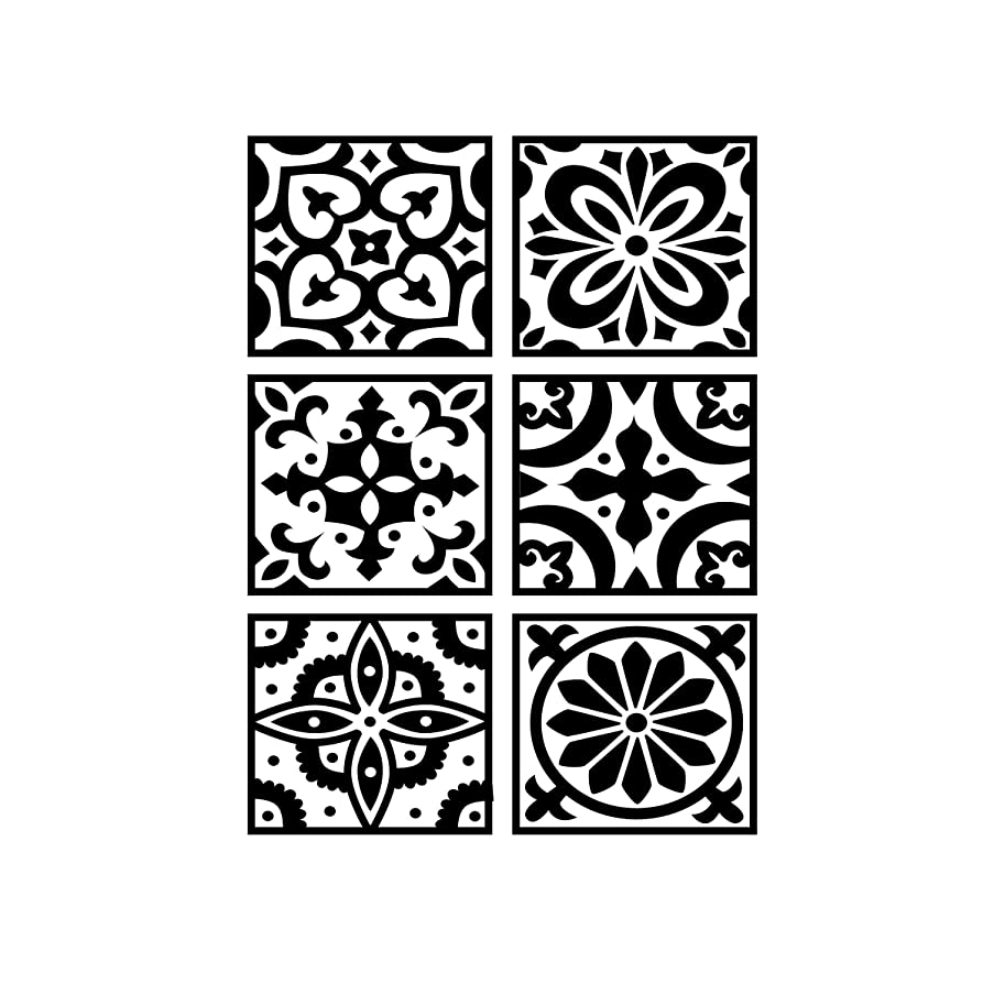 Darice 30041342 Embossing Folder: Tile Patterned