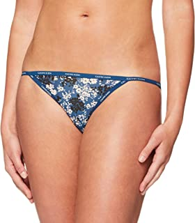 Calvin Klein Women's Sheer Marquisette Bikini