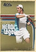 2006 Ace Authentic Heroes & Legends Tennis #26 Richard Gasquet