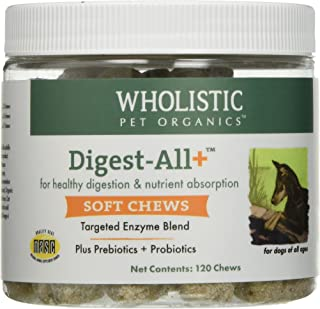 Wholistic Pet Organics Digest-All Plus Soft Chews Supplement