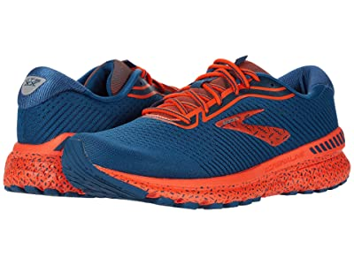 Brooks Adrenaline GTS 20 (Poseidon/Flint Stone/Red) Men