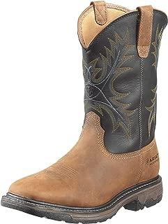 Men's Workhog Wide Square Toe H2O Steel Toe Work Boot