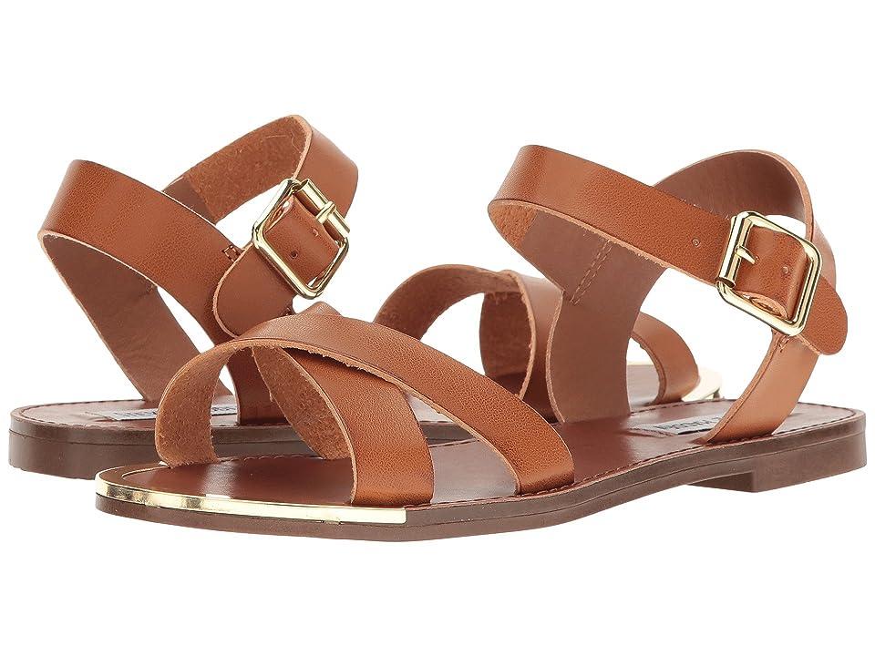 7af30b31c2f Steve Madden Bayley-R (Cognac) Women s Sandals