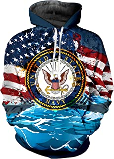 Yestrong Womens 3D Pattern Printed Circle Jerks Novelty Pullover Hooded Sweatshirt Pockets