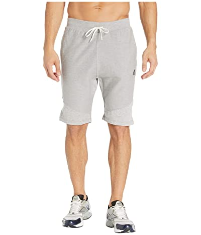 Reebok Training Essentials Twill Shorts (Medium Grey Heather) Men