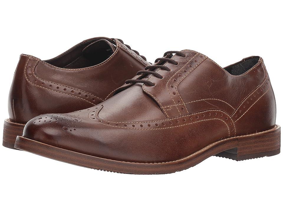 Nunn Bush Middleton Wing Tip Oxford (Brown) Men