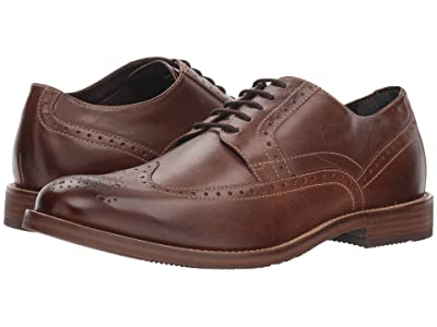 Nunn Bush Middleton Wing Tip Oxford (Brown) Men
