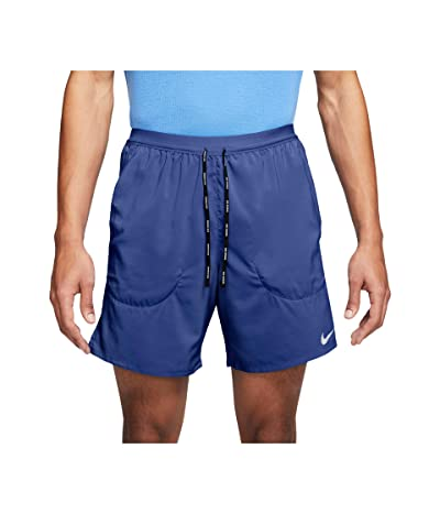 Nike Flex Stride 2-in-1 Shorts 7 (Astronomy Blue/Reflective Silver) Men