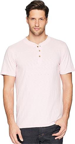 Negative Slub Garment Dyed Henley