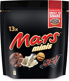 Mars Minis Chocolate (13 Pieces), 169g