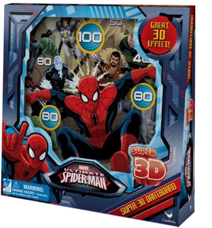 Marvel Utimate SpiderMan Super 3D Dartboard