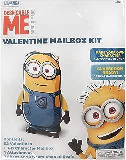 32ct Minions Valentine's Day Mailbox Kit with Valentines