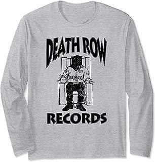 Death Row Records Black Logo Long Sleeve T-shirt