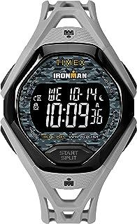ساعة Timex Ironman Sleek 30 بسوار من الراتنج للرجال