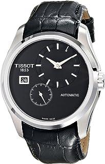 ساعة تيسو للرجال T0354281605100 انالوج بعقارب اتوماتيكية ذاتية الرياح لون اسود