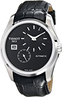 Tissot Men's T0354281605100 Analog Display Automatic Self Wind Black Watch