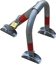 PB-3LS Antirrobo Barrera de aparcamiento con candado de lat