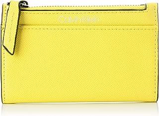 Calvin Klein Signature Ns Cardholder Wallets, Card Cases & Money Organizers, Yellow, 14 cm - K60K606537
